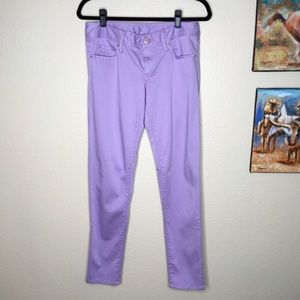 Lilly Pulitzer Worth Skinny Lavender Size 4